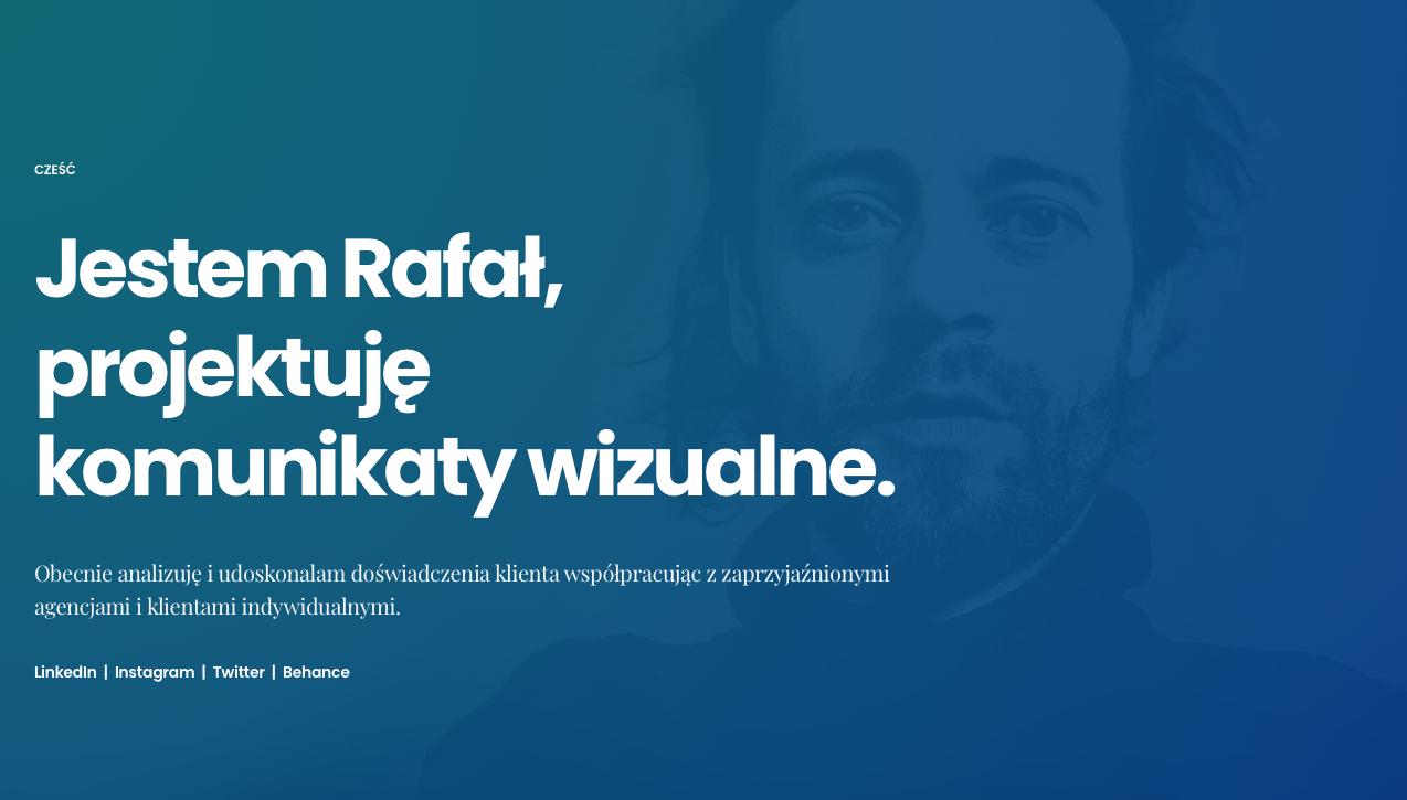Rafał Leśniak O Mnie